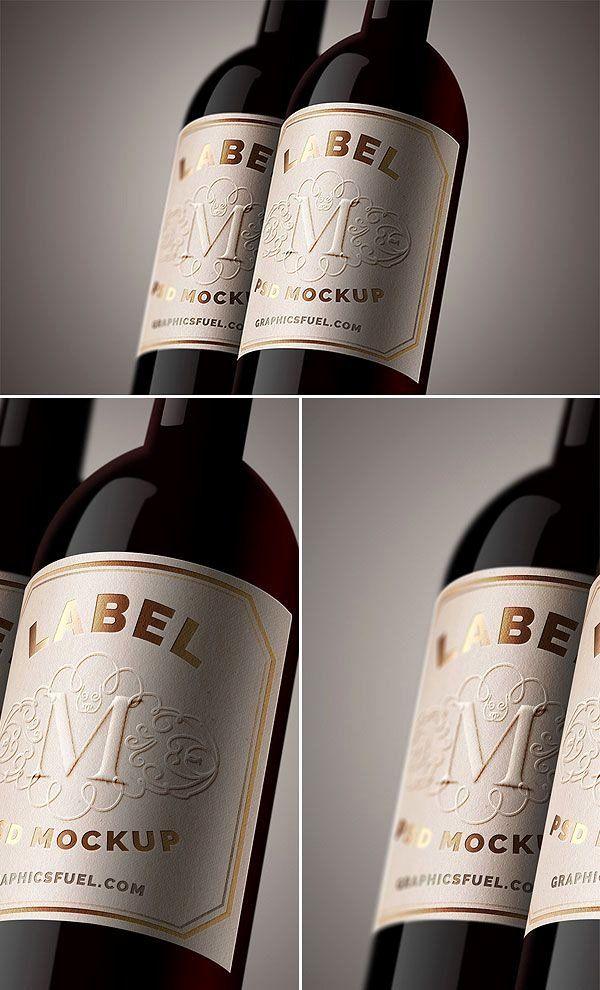 Wine Label Template Photoshop Luxury Free Wine Bottle Label Mockup