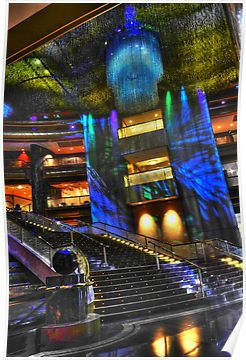 Crown Casino - this is tres cool! by Damian Morphou