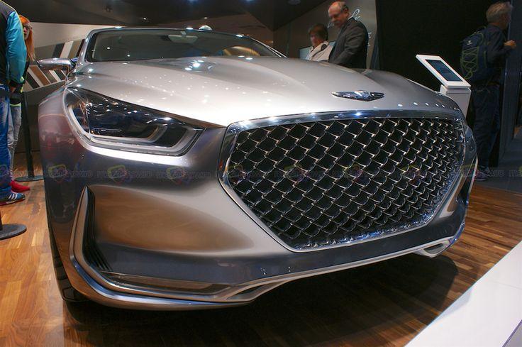 Hyundai Concept Vision G - Want to see more? Follow the link on the photo for Hyundai at IAA Frankfurt 2015!
