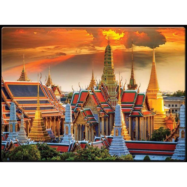 Quebra-Cabeça 1000 Peças - Grande Palácio de Bangkok -Brinquedos - Até 1000 Peças - Walmart.com