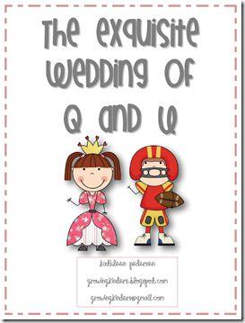 So fun! The wedding of Q and U