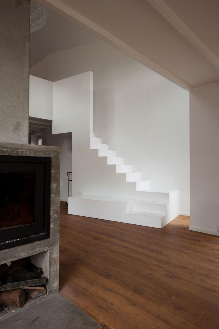 Best 25 concrete stairs ideas on pinterest concrete - Maison boone murray tribe studio architects ...