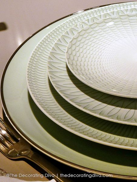 Vista Alegre Venezia Porcelain Plates Collection