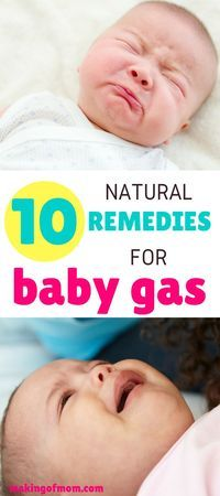 Here's 10 natural remedies you can try to help relieve baby gas pains - some you can try right now!
