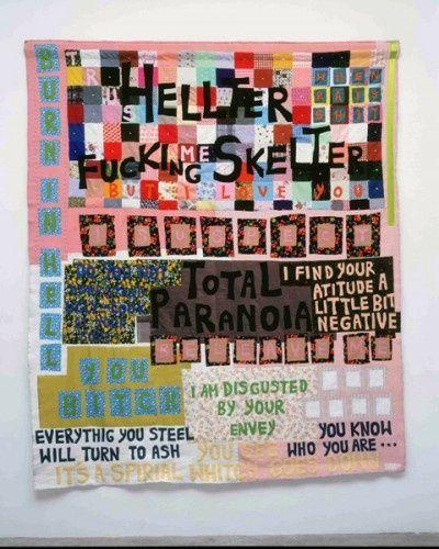 Tracy Emin Tapestry Art