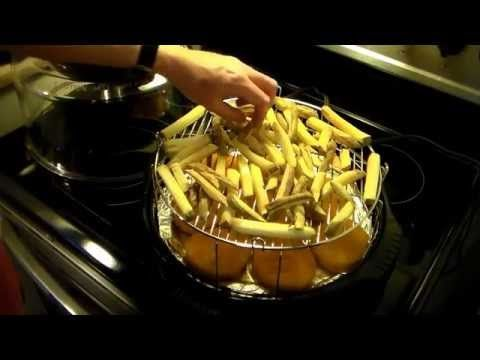 French Fries In The Nuwave Oven Youtube 20 Min Use Fresh Potatoes Or Frozen And Season He