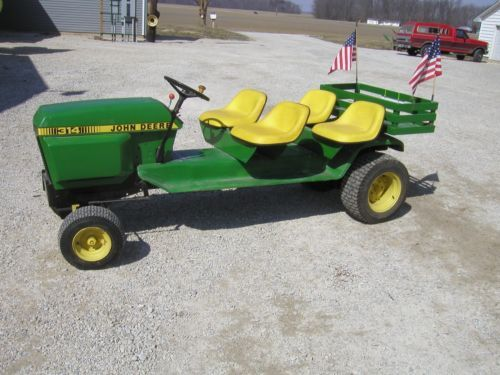 Lawn Tractor Frames : John deere garden tractor boys beds and lawn