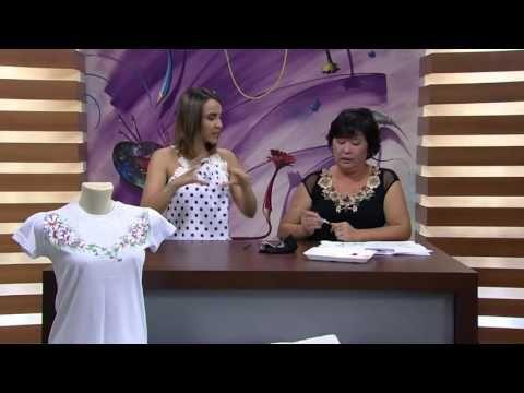 Mulher.com - 12/01/2016 - Pintura de flores em camista - Julia Passerani - YouTube