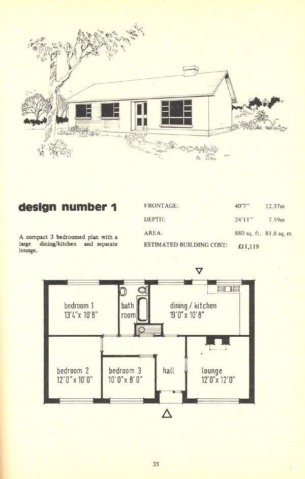 The Irish Bungalow Book Archiseek Irish Architecture Irish House Plans Cottage House Plans Cottage Bungalow House Plans