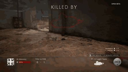 He can't shoot you if he can't see you [bf1]