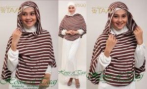 Hijab Hoodie Modern Terbaru Taaj