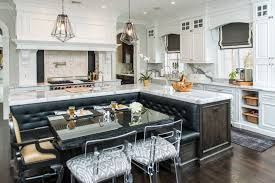 Image result for kitchen island with bench seating