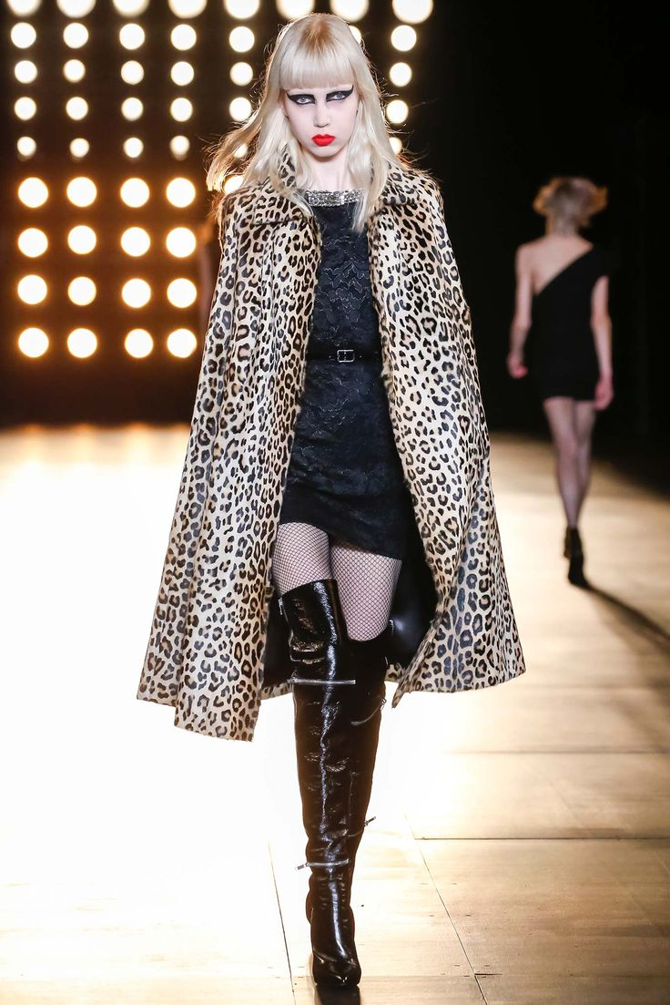Saint Laurent - Fall 2015 Ready-to-Wear - Look 55 of 60