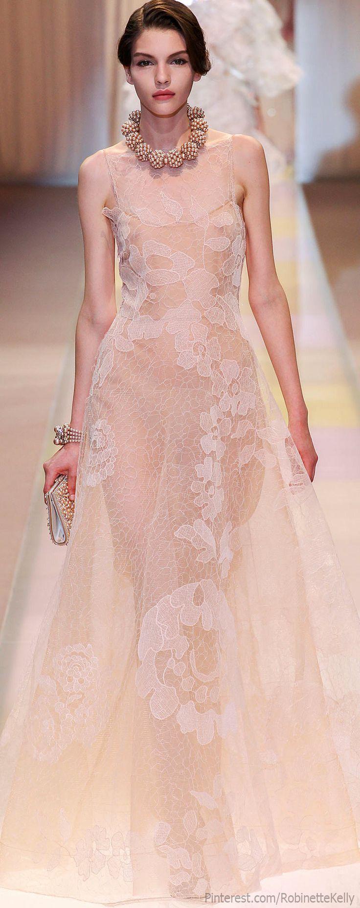Armani Privé Haute Couture   F/W 2013