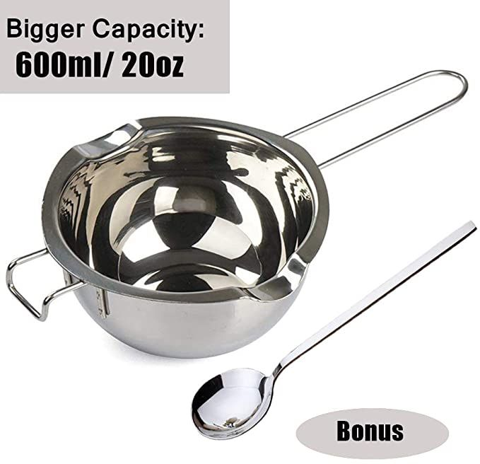 Baosity Stainless Steel 250mm Long Handled Mixing Spoons for Scoop Candle Wax Melting Wax Soap Base Stirring Spoons