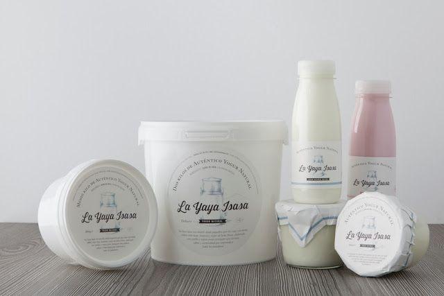 La Yaya Isasa Yogourt range on Packaging of the World - Creative Package Design Gallery