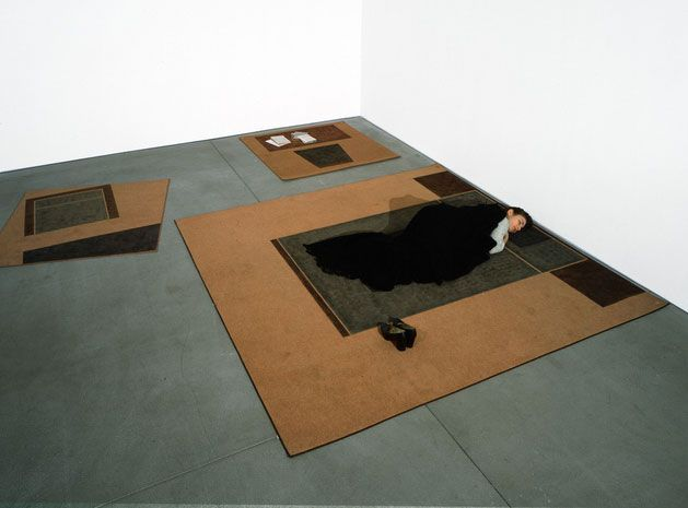 Andrea Zittel, Carpet Furniture, 1993