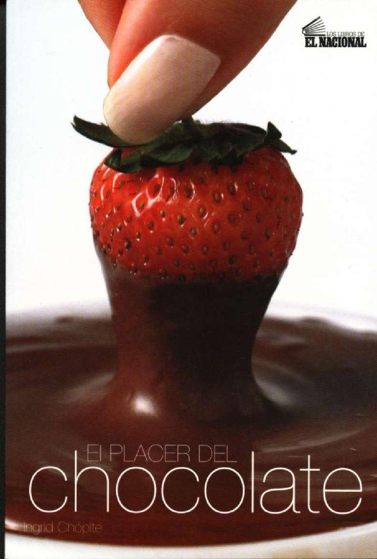 El Placer del Chocolate Recetas con chocolate