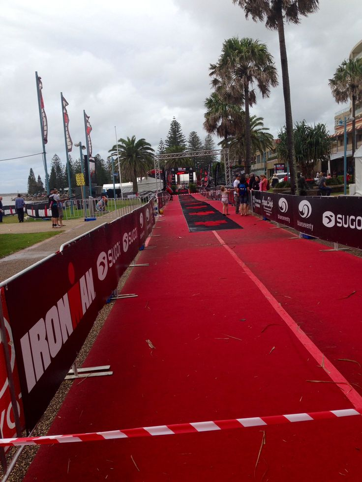 The IMOZ course from the weekend. What better place for athletic inspiration. #idisnotdoanironman