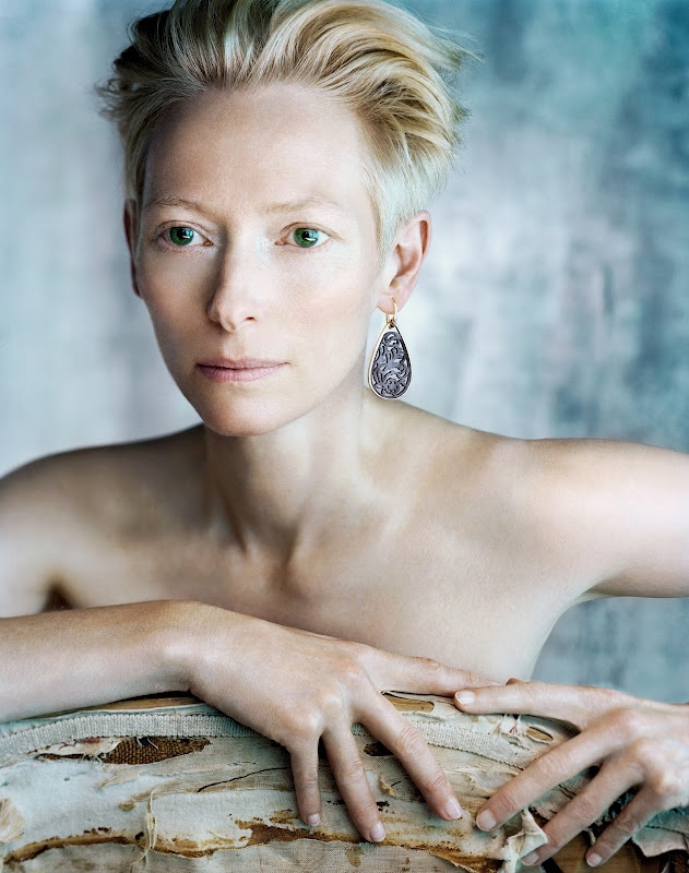 I`m so in love with her and her acting :) Tilda Swinton