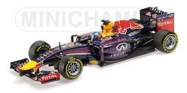 Minichamps - Red Bull Racing Renault - mc110140001 : 2014 Infinity Red Bull Racing Renault RB10 Vettel, blue