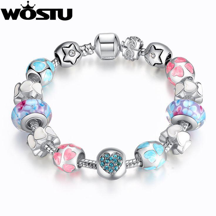 Pandora Style Charm Bracelet including 14 amazing Charms //Price: $53.99 & FREE Shipping //     #hashtag3