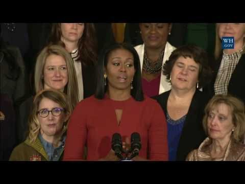 The First Lady Honors the 2017 School Counselor of the Year - YouTube