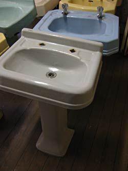 Pedestal basin, Basins and Bathroom vintage on Pinterest