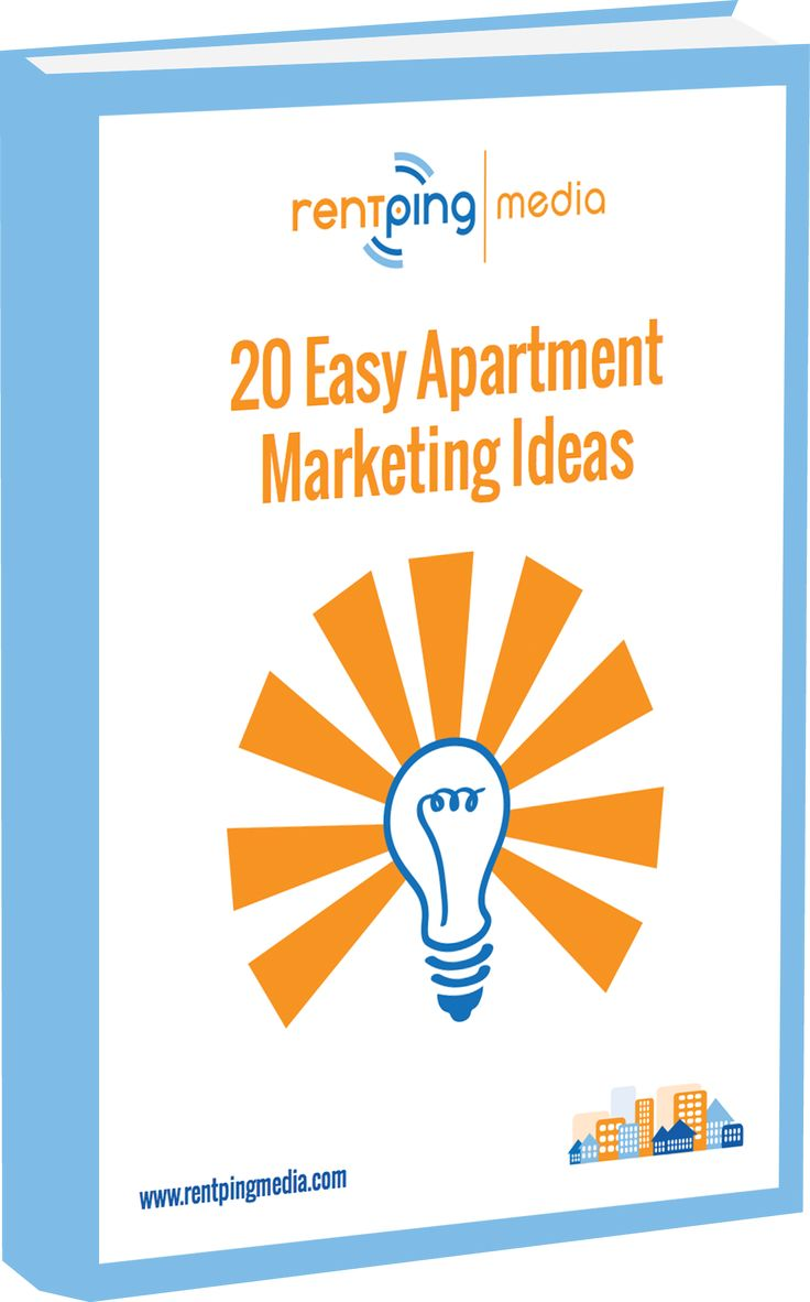 this free ebook has 20 easy apartment marketing ideas that you can start working on today