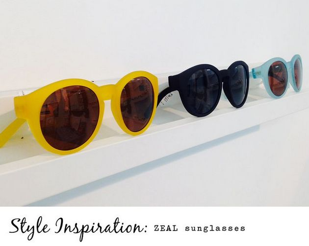 Sunglasses in store at Envision Optical in James Street from Zeal Optics. Love these styles!