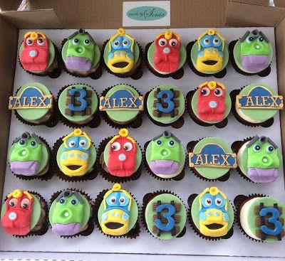 chuggington cupcakes - Google Search                                                                                                                                                                                 More