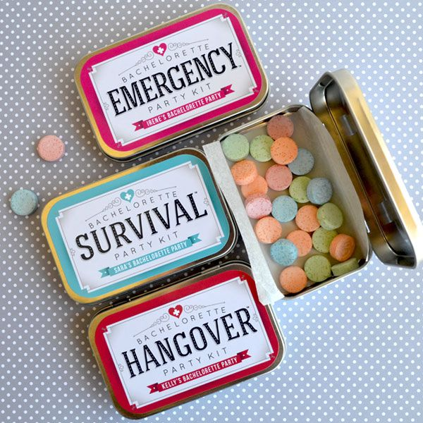 The Cutest Goodies for a Bachelorette Hangover Kit