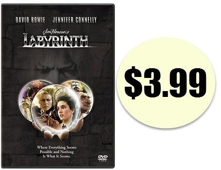Labyrinth DVD $3.99 (Was $14.99) - http://www.swaggrabber.com/?p=289572