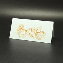 Catherine place card