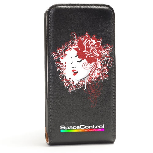 Sort-Iphone-Cover-trykket-med-CPM-transferpapir-blomsterjente http://www.themagictouch.no