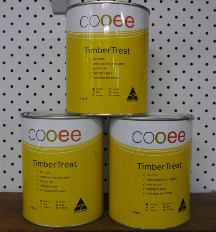 COOEE TIMBER TREAT $21 FOR 1 LITRE.  Eco Wood Plus