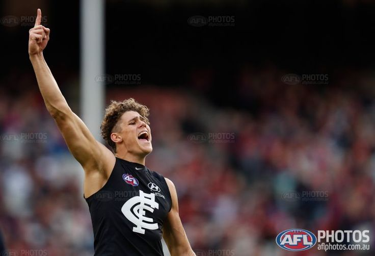 Charlie Curnow Rising star nomination Rnd 16 2017