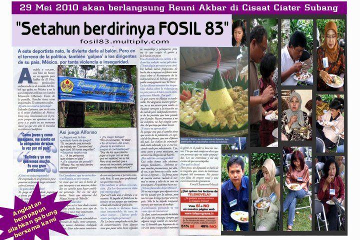 Fosil 83 Fisip Unpas.