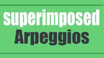 Superimposed arpeggios - Jazz guitar lesson
