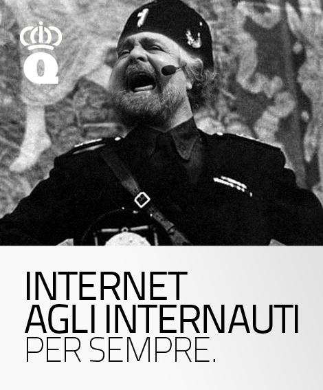 Internet agli internauti.
