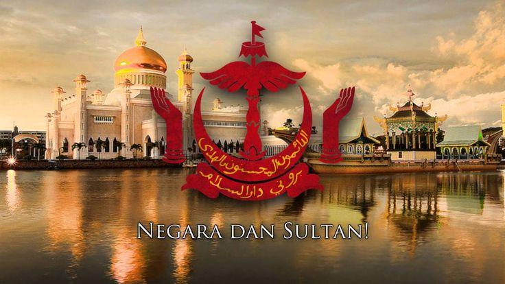 """National Anthem of Brunei - """"Allah Peliharakan Sultan"""" (""""لله فليهاراكن س..."""