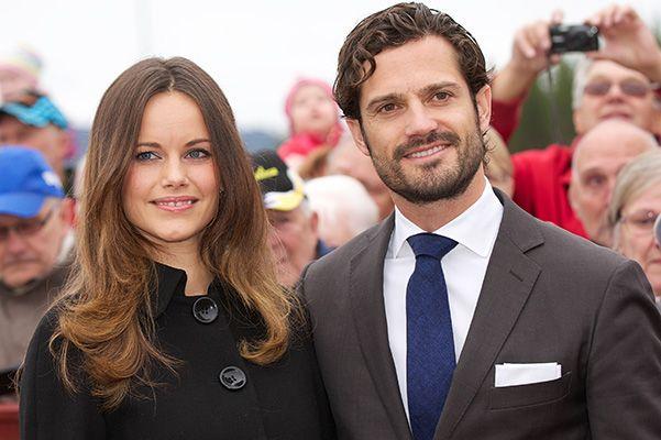 Принцесса София и принц Карл Филипп