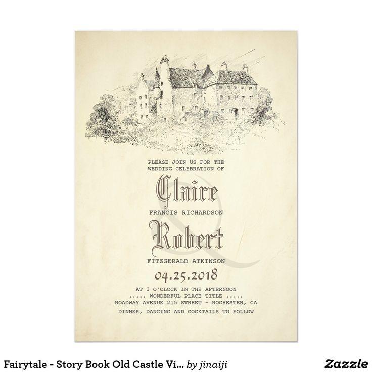 1903 best Vintage Wedding Invitations images on Pinterest