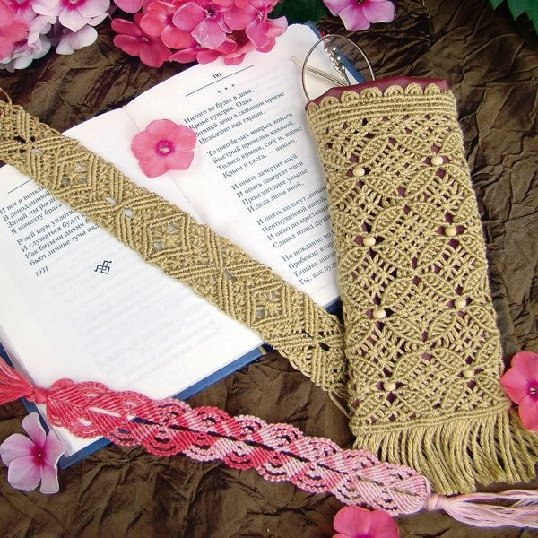 Macrame: Lesson Two - ocheshnik and delicate lace - Schemes and instructions.