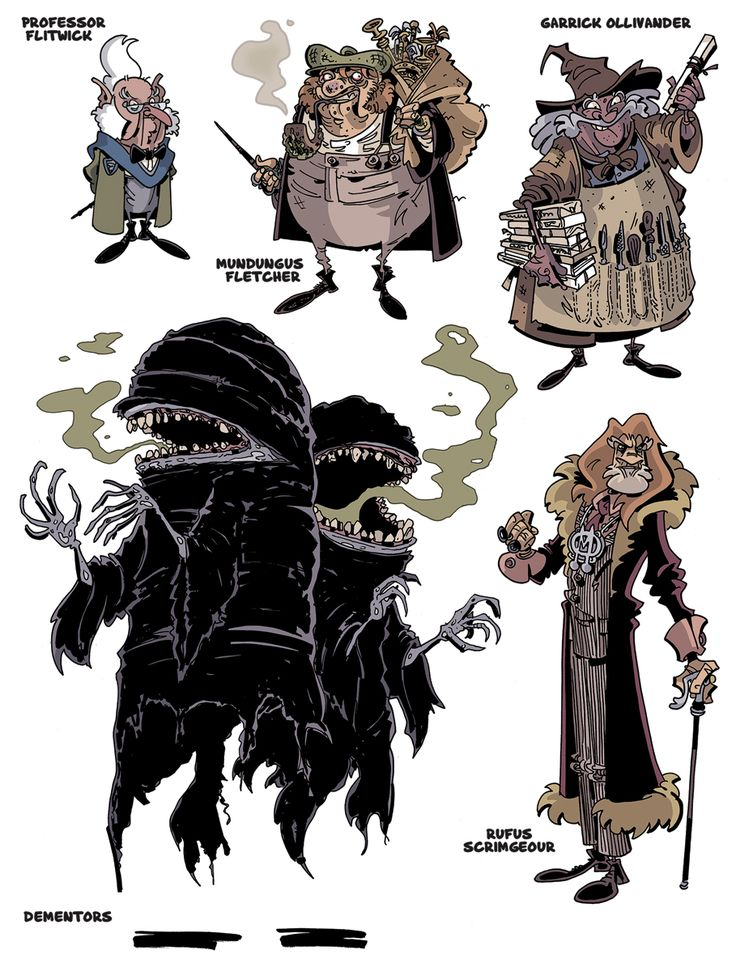 Harry Potter Character Design Challenge Facebook : Art by chris schweizer website http
