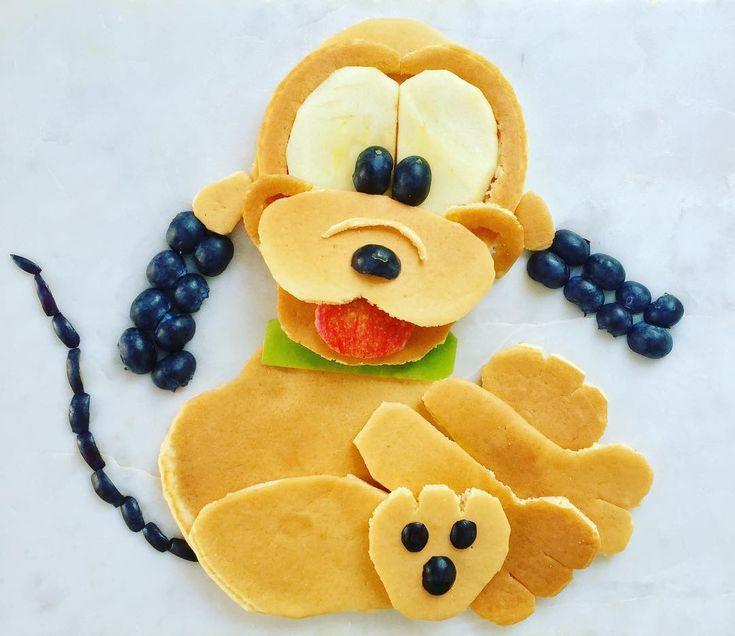 Pancake Pluto by Shannon Mazzei (@foodartfun)