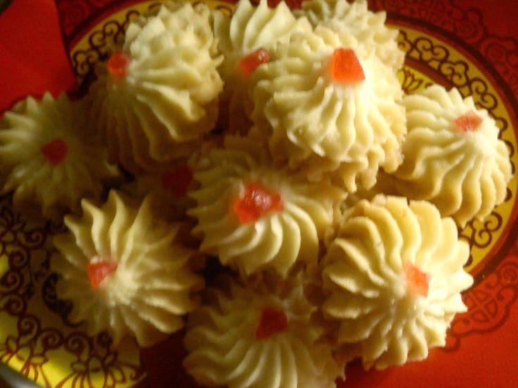Немецкое печенье Цветок