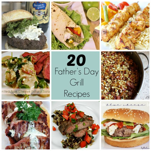 father's day recipes for dinner