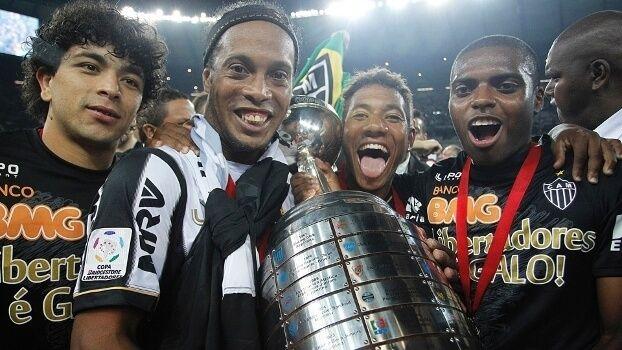 Copa Libertadores Da America Campeoes Artilheiros E Recordes Libertadores Da America Atletico Mg Ronaldinho Gaucho