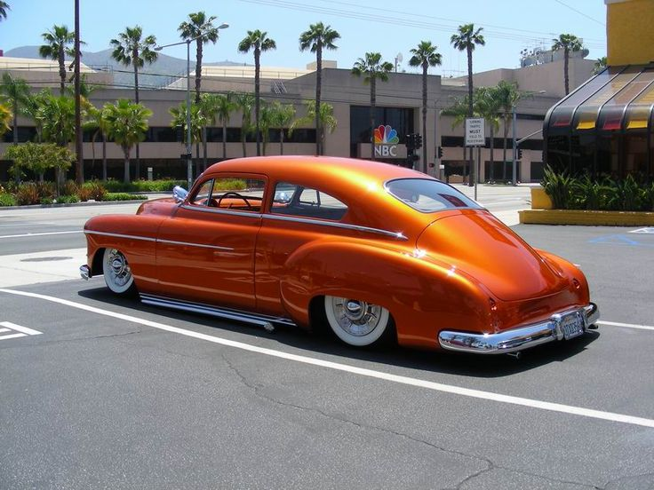 Custom 1950 Chevy Fastback on Audi Exterior Paint Colors Codes
